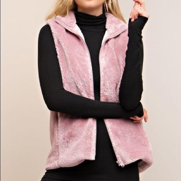 entro Jackets & Blazers - Mauve soft vest